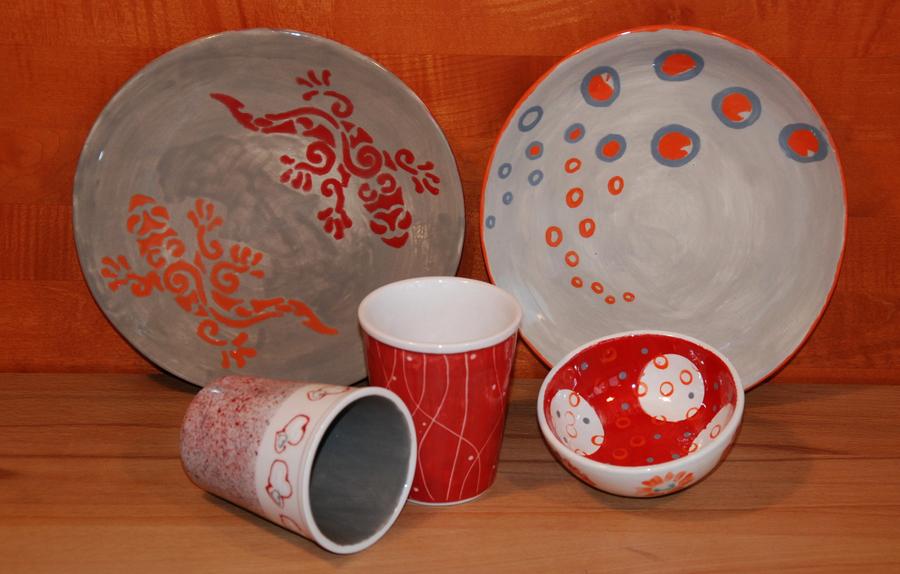 lust laune keramik selbst bemalen was. Black Bedroom Furniture Sets. Home Design Ideas